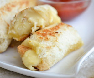 cheese, snack, and food image