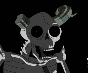 cartoon network, evil, and skeleton image