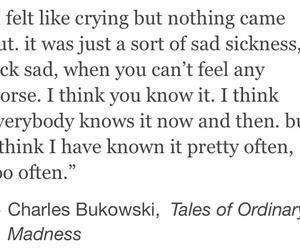 charles bukowski, life, and me image