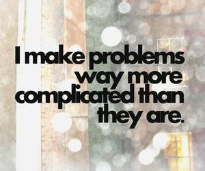 problem, text, and quote image