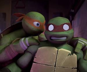 lovely, mikey, and turtles image