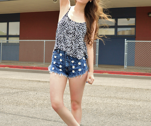 skateboards, cutoffs, and daisies image
