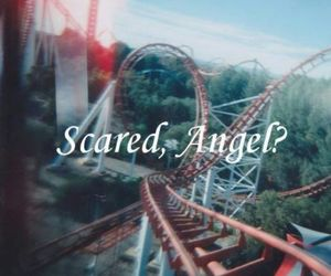 angel, forever, and scared image