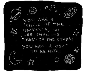 quotes, universe, and stars image