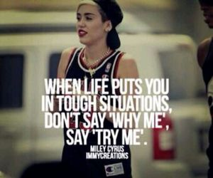 quote, miley cyrus, and miley image