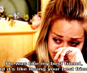 quote, lauren conrad, and sad image