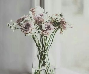 bouquet, vintage, and flowers image