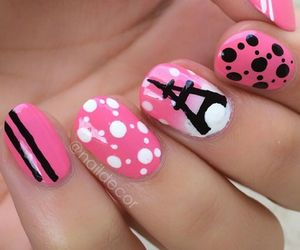 lacquer, pink, and nails image