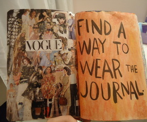 mode, vogue, and wreck this journal image