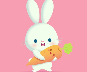 carrot and rabbit image