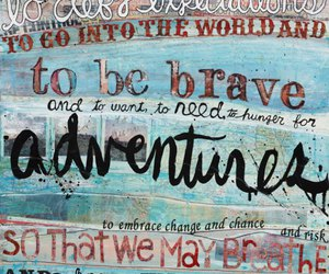 adventure, quote, and free image
