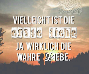 liebe, natur, and text image