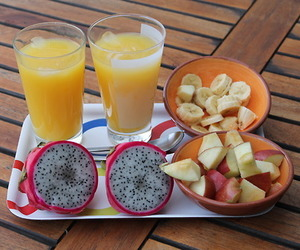 apple, fruit, and breakfast image