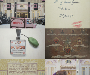 wes anderson, grand budapest hotel, and the grand budapest hotel image