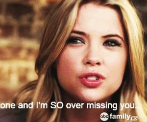 quote, pretty little liars, and hanna image