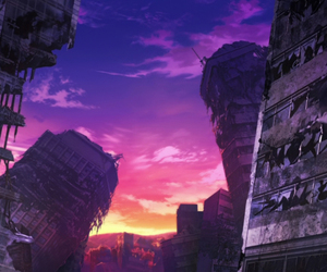 anime, background, and scenery image