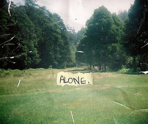 alone, text, and photography image