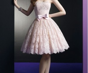 fashion, girly, and coctail dress image