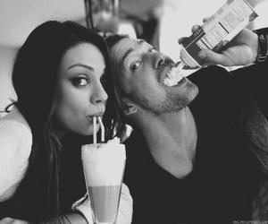 justin timberlake, Mila Kunis, and couple image