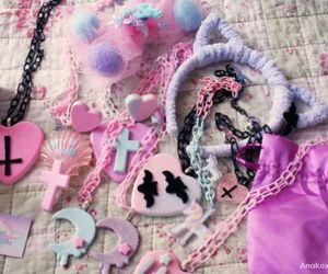 kawaii and pastel goth image