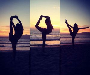 beach, cheer, and dance image
