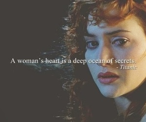 titanic, woman, and heart image