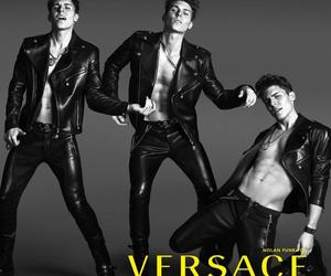 Versace, nolan funk, and awkward image