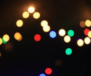 circles, pretty, and lights image