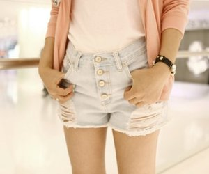 fashion, shorts, and short image