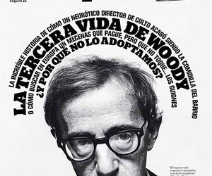 cover, woody allen, and esquire image
