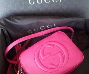 bag, gucci, and pink image