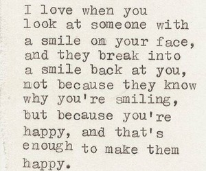 quotes, smile, and love image