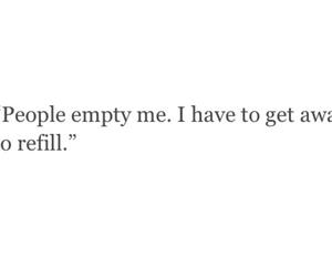 cry, empty, and quotes image