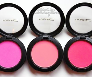 mac, pink, and blush image