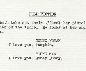 pulp fiction, quentin tarantino, and movie image