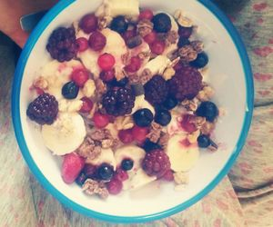 bananas, berries, and cereals image