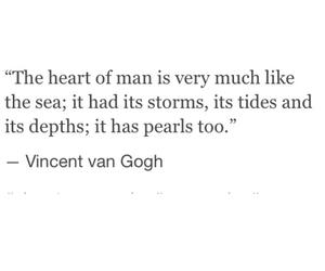 art, sea, and heart image