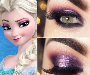 frozen, make up, and makeup image