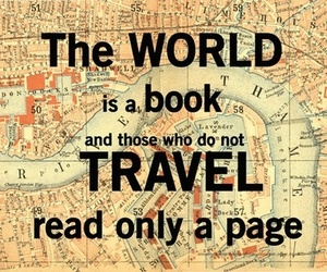world, book, and travel image