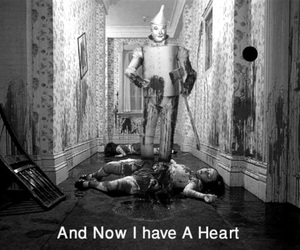 heart, blood, and tin man image