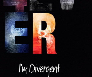brave, four, and divergent image