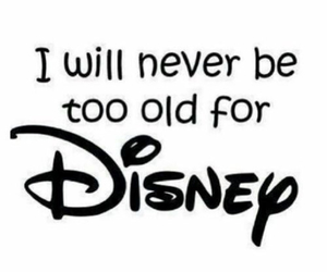 disney, never, and quotes image