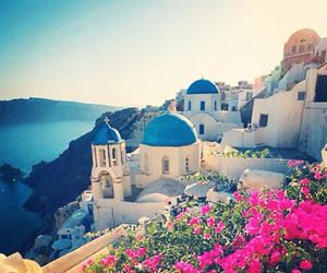 Greece and blue image