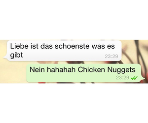 food, liebe, and nuggets image