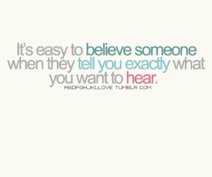 believe, Easy, and hear image