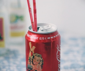 coca cola, marilyn, and Pin Up image