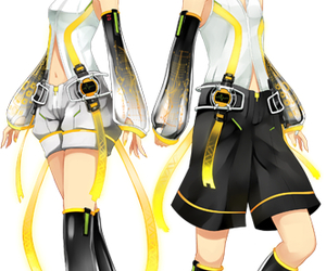 vocaloid, rin, and anime image