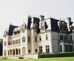 castle, house, and mansion image