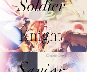 final fantasy, knight, and lightning image