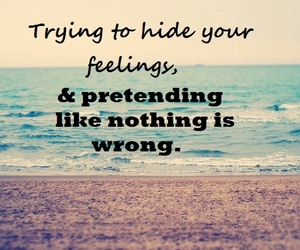 quotes, feelings, and hide image